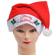 2015 High quality and cheap price Santa hat Christmas winter hat
