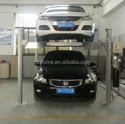 High quality four post auto parking lift / auto parking equipment for home garage