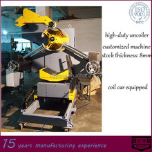 motorized coiler for heady coils-YOUYI machine