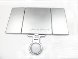 Factory directly supplying Three sides folding pocket mirror / cosmetic mirror / makeup mirror
