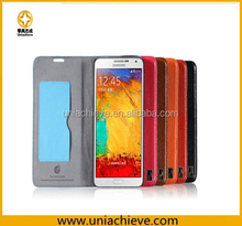 Case for Samsung note 3, PU leather case for Samsung note 3