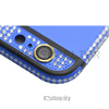 New arrival men blue back housing replacement cover for iphone 6 diamond around