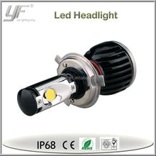 12v 5w led car bulb led h4 motorcycle headlight, auto part led h4 motorcycle headlight
