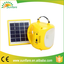 2015 cheap solar lantern with mobile phone charger