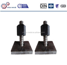 High quality soil nail with anchor nut and anchor plate