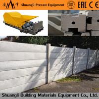 Multi-Caster Concrete Extrusion precast cement lintel making machine/ Pillars / Fencing Post / 'H' Column / 'T' Beam/