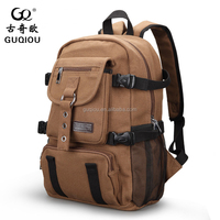 Luxurious fashion Hiking Daypack Rucksack Canvas Backpack Traveling Bags