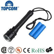Rechargeable Magnetic Waterproof IP68 Powerful XML-L2 Scuba Torch Led Diving Underwater 100m Flashlight Military Quality