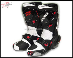 Multi-Faceted Adjustment Buckle Mid-Calf Protective Racing Motorbike Boots Motocross Riding Bota Motorcycle