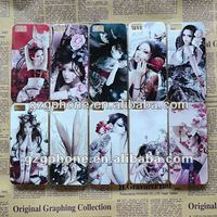 newest design Beautiful skin, hard case for iphone5 color printing case
