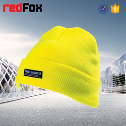 Wholesale Sportsman fold up beanie knitted hat