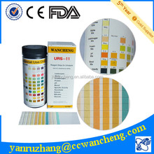 11 parameters CE certificated urine test strip for URS-11