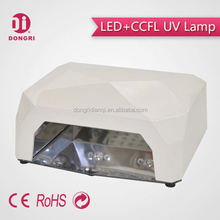 2015 mieux 24 w led ccfl nail lampe uv spéciale pour une utilisation de salon