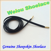 Weiou Sheepskin leather lacing supplies leather shoe lace 135cm Length