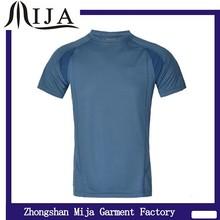Wholesale China custom logo slim fit 100% polyester dry fit sport shirt