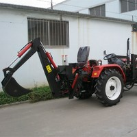 small garden tractor loader backhoe mini tractors with front end loader