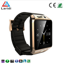 2015 New product GV08S android smart watch mobile phone