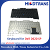 Alibaba Gold China supplier us laptop keyboards for Dell D620