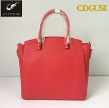 2015 China newest wholesale exported Fashional good quality handbag trend leather handbag