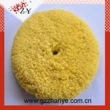 Doubled Side Untwisted Blended Wool Pad 3M Wool Compounding Pad For Car Polish
