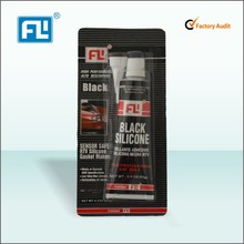 Factory produced black RTV silicone gel high temp resist RTV silicone sealant