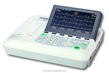 7 Inch-screen CE Marked Best Value 3 Channel EKG with Access to Printer