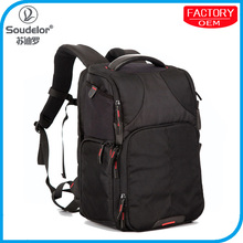 2015 new designer camera bag for photographer, fashion photo backpack