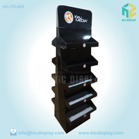 double side cell phone accessory display stand for mobile phone charger