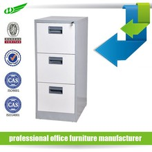 High quality 3 drawer office file cabinet and vault with lock