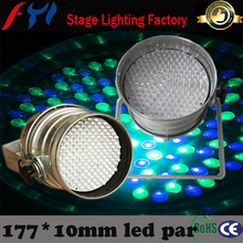 Wholesale price 177x10mm high power led par can light stage lighting system