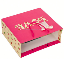 2015 cheap paper party bags/ luxurious paper party bagss printing/ promotional new luxury shopping paper party bags for cloth