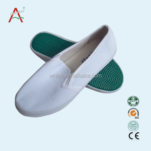 White steel toe anti static safety shoes