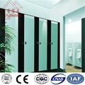 Decorativa alta- presión laminados/tipo de hpl y la textura de la superficie de acabado del sistema sanitario cubículo