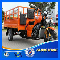 2013 New Gas Hot Seller 200CC Motor Tricycle
