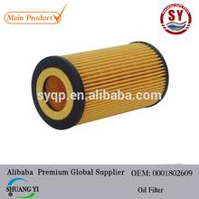 de choque del precio del petróleo filter0001802609 utilizado para mercedes benz