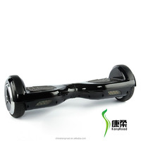 Flexible and portable two wheel self balancing scooter