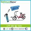 High Power 36v 10ah e-bike lifepo4 battery