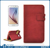 Wholesale Alibaba Flip Leather for Samsung S6 Case, Mobile Phone Wallet Case for Galaxy S6