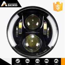 Promotional Samples Are Available Custom Color High Intensity Rohs Certified H7 Led Headlight High Lumen 4500Lm