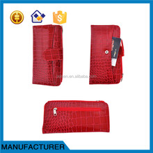 Cheap Hot Selling fashion lady leather wallet