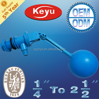 """1"""" Small Water Tank Ball Float Valves with adjustabe Arm"""