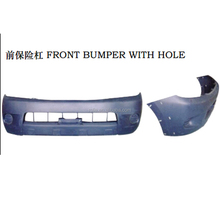 Rolie one stop of toyota car auto parts supplier 2008 hilux vigo front bumper with hole