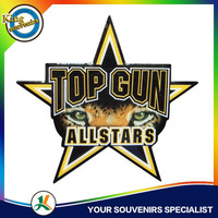 top gun pin magnetic name badge badge making machine