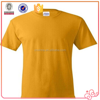 cheap price colorful blank men's t shirt in bulk