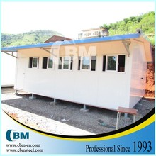 Eco friendly modular pre fabricated homes