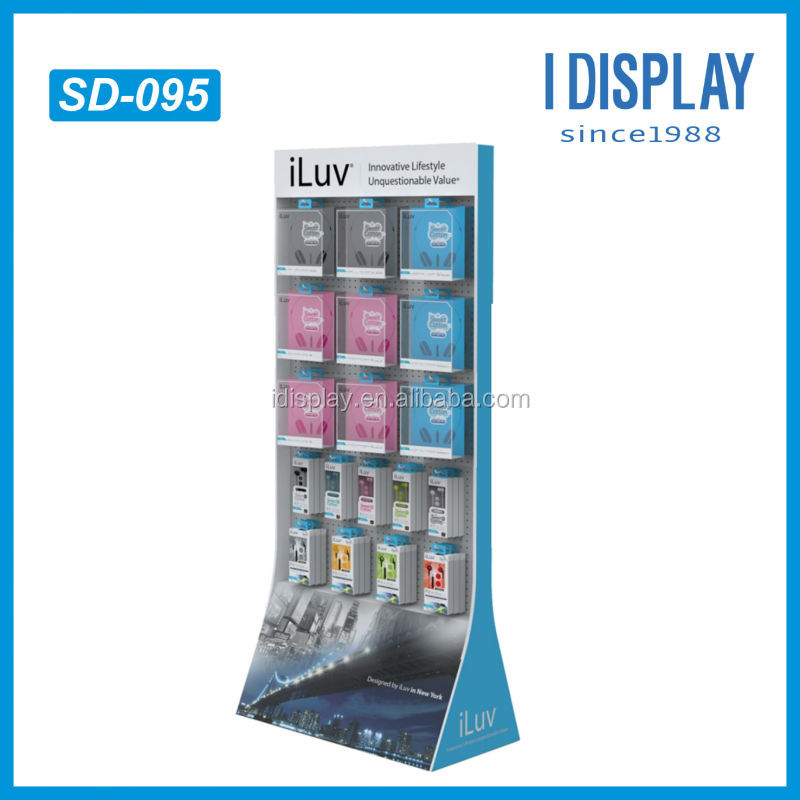 Cell Phone Case Display RackCardboard Hanging Display RacksCell Inspiration Mobile Phone Accessories Display Stand