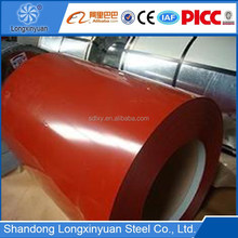 competitive price building material color coated corrugated roofing sheet double painting ppgi steel plate