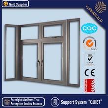 Trade Assurance Waterproof Aluminum Casement Window