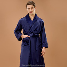 sex doll for men nevy blue shawl collar double layer microfiber evening dress