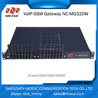 Gsm wifi wireless gateway with 64 sim card